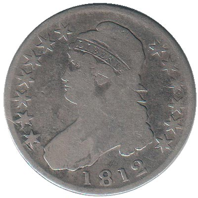 Capped Bust Half Dollar 1812